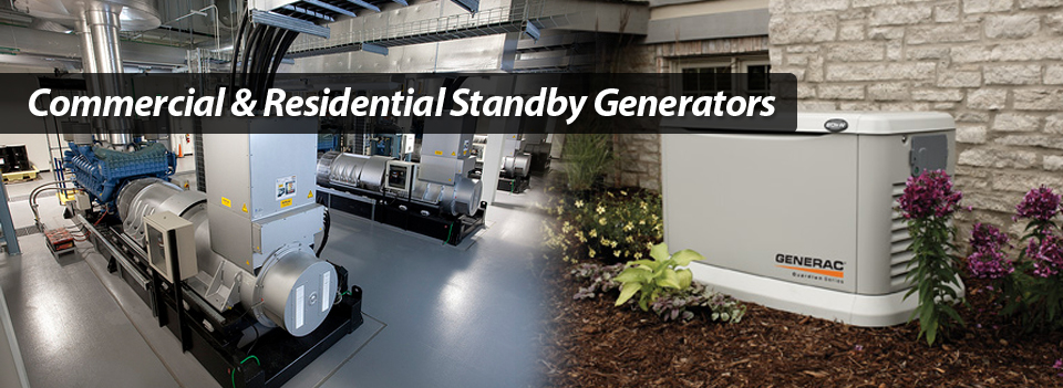 Commercial Residentail Standby Generators